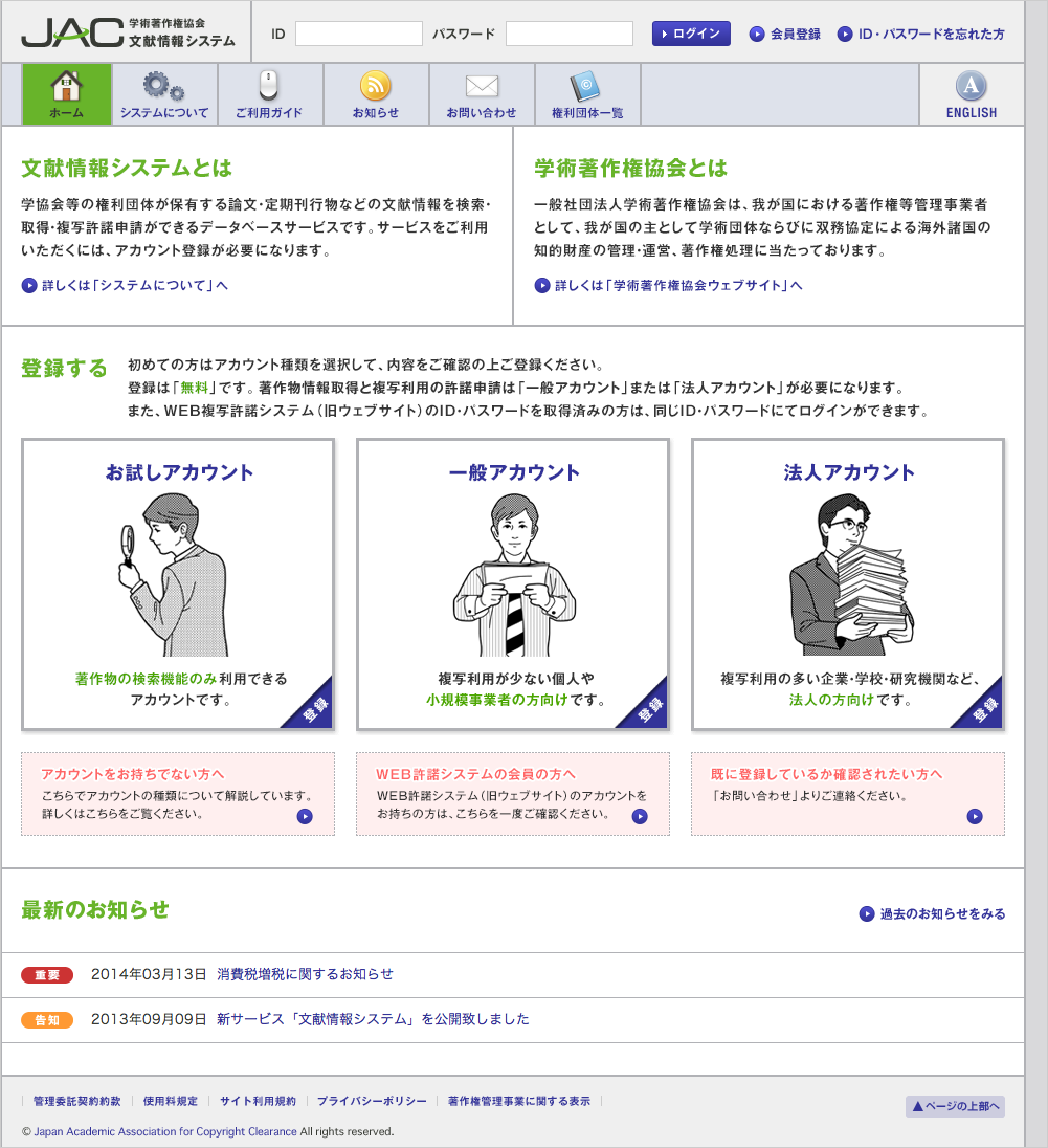 文献情報システム